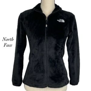 North Face Osito Fleece Zip Front Jacket Size XS
